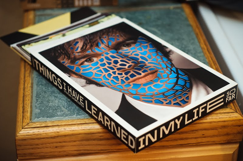 """Things I have Learned In My Life So far"" – Stefan Sagmeister"