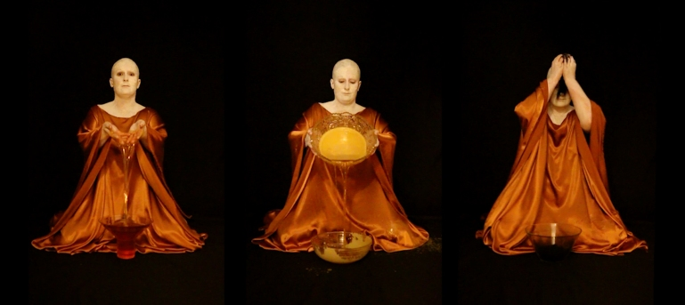 QueenofWax Triptych