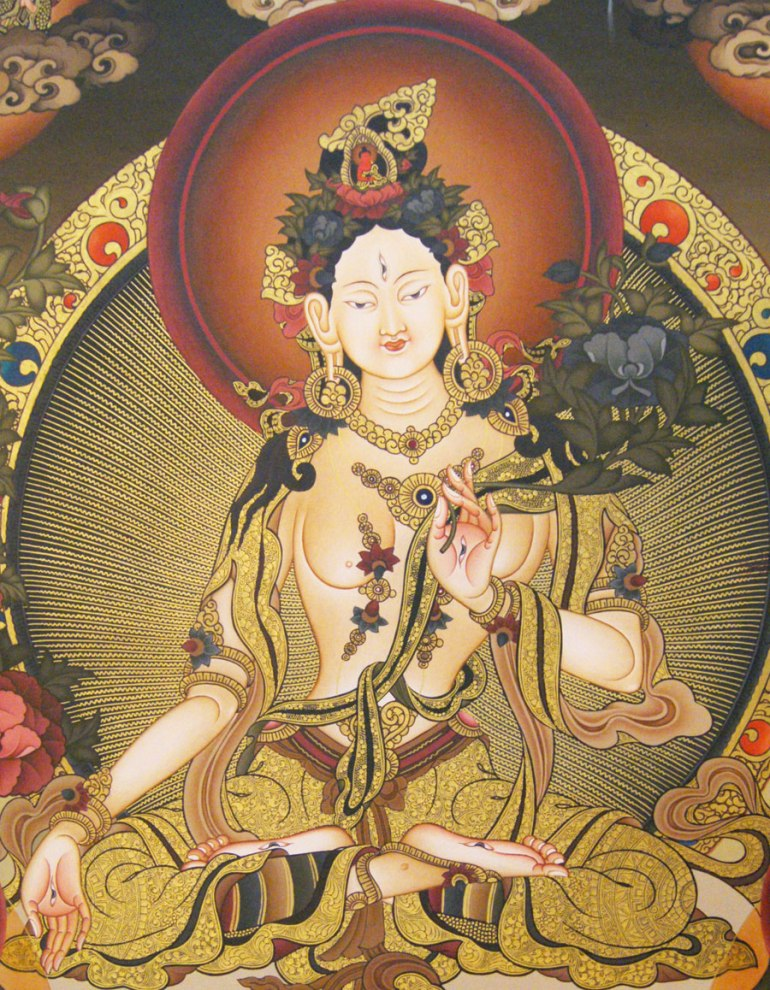 White-Tara-(fine-art-)-face