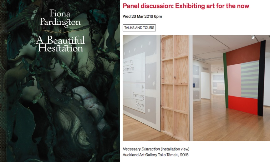 A Beautiful Hesitation & Panel Discussion: Exhibiting Art