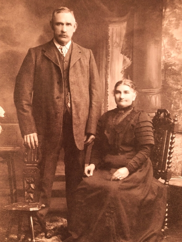 Great, great grandfather David Falconer the blacksmith and Great great grandmother Margaret Falconer